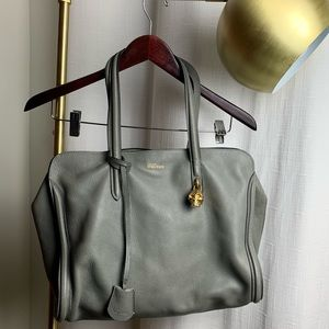 Alexander McQueen Large Gray Tote